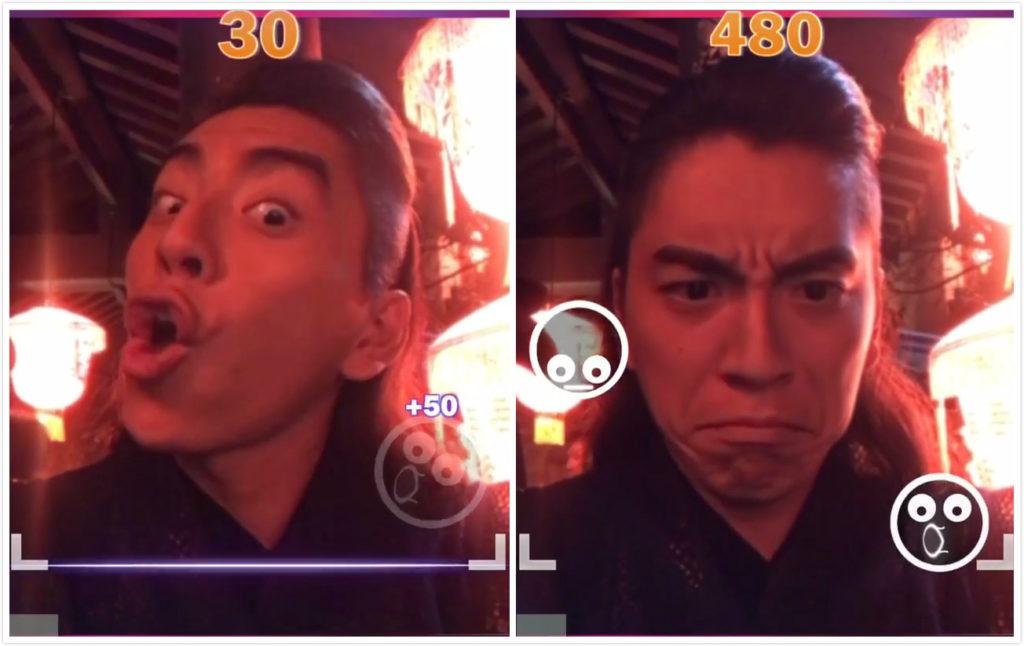 ▲王大陸挑戰「臉部跳舞機」表情超生動。(圖/翻攝王大陸IG)