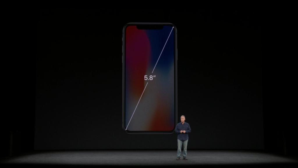 ▲尺寸為 5.8 吋,營幕之大同樣是歷來 iPhone 之冠。