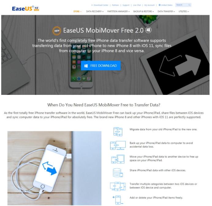 EaseUS MobiMover 2.0 -iPhone、iPad舊機資料轉移工具( 備份還原超快速 ) @ Fun I Phone 我的手機派對! :: 痞客邦