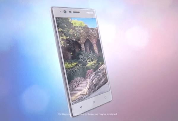 Nokia 3(圖/Nokia
