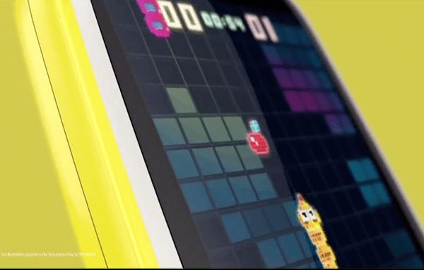 Nokia 3310 內建貪食蛇遊戲(圖/Nokia)
