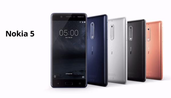Nokia 5(圖/Nokia)